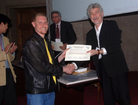 This is me accepting the award =)