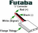 Futaba Servo Connector