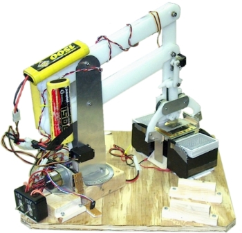 Robot Arm with HDPE