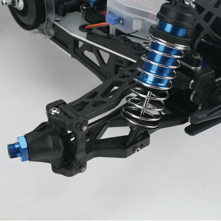 Suspension on RC Truck