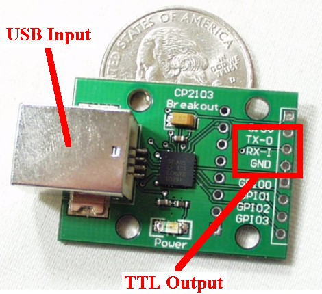 USB to TTL Adaptor