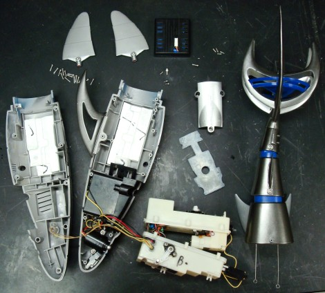 RC Robot Shark