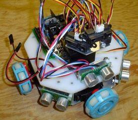 Fuzzy Omni-Wheel Robot