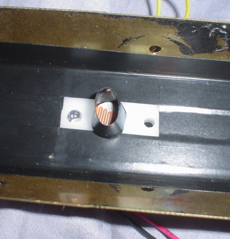 Photoresistor and LED