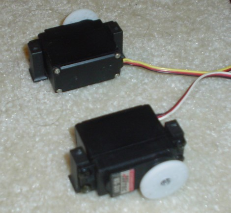 Two Servos in Position
