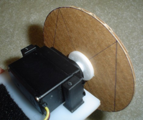 Attach Wheel to Servo