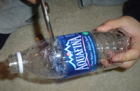 Cut Water Bottle