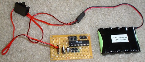 Plug in RC Battery