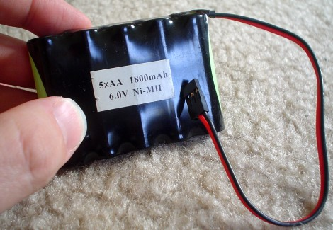 6V RC Battery Pack