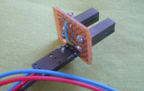 Closeup of Encoder Sensor
