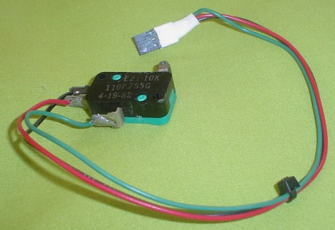 Micro Switch with Wiring
